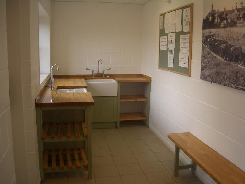 Washing up room